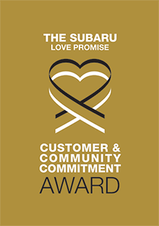 The 2018 Subaru Love Promise Customer and Community Commitment Award